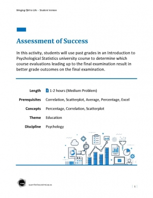 Assessment of Success