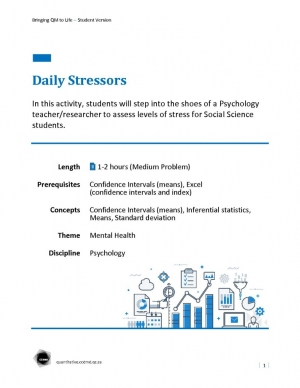 Daily Stressors