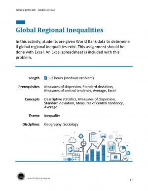 Global Regional Inequalities